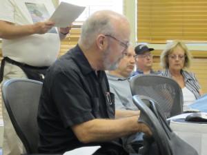 Joe Haldeman reading the names of nominees for the 2012 Hugo awards at LepreCon.in Tempe, AZ.