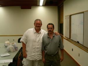 Rick Novy with Orson Scott Card on www.ricknovy.com